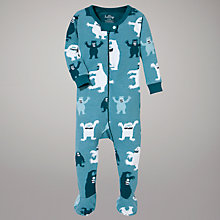 Buy Hatley Ice Monsters Sleepsuit Online at johnlewis.com