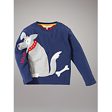 Buy John Lewis Dog Top, Navy Online at johnlewis.com