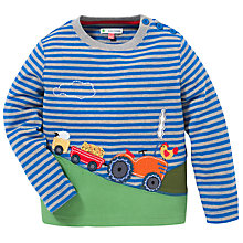 Buy John Lewis Farm Scene Top, Blue Online at johnlewis.com