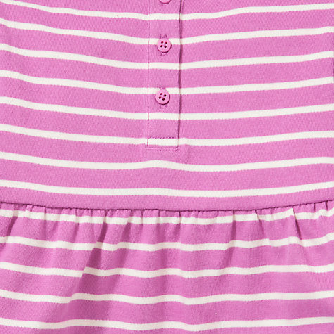 Buy John Lewis Striped Jersey Dress, Purple Online at johnlewis.com