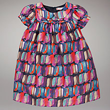 Buy John Lewis Pebble Sateen Dress, Multi Online at johnlewis.com