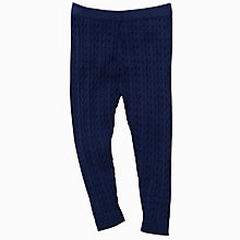 Buy John Lewis Cable Leggings Online at johnlewis.com