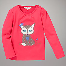 Buy John Lewis Fox Top, Pink Online at johnlewis.com