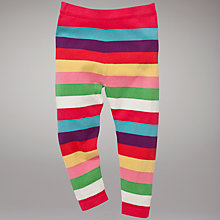 Buy John Lewis Striped Knitted Leggings, Multi Online at johnlewis.com