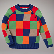 Buy John Lewis Patchwork Piecrust Jumper, Multi Online at johnlewis.com