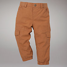Buy John Lewis Skater Trousers, Stone Online at johnlewis.com