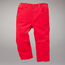 Buy John Lewis Corduroy Trousers, Red Online at johnlewis.com