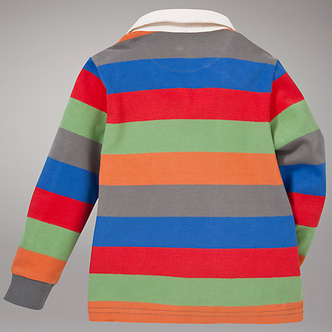 Buy John Lewis Striped Rugby Top, Multi Online at johnlewis.com