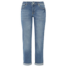 Buy Jigsaw Boyfriend Jeans, Light Blue Online at johnlewis.com