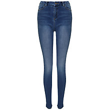 Buy Whistles Maysa Mid Wash Long Length Jeans, Denim Online at johnlewis.com