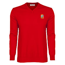Buy Thomas Pink The Lions Knitted V-Neck Jumper Online at johnlewis.com