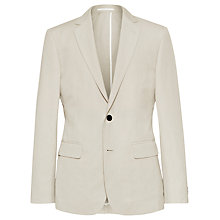 Buy Reiss Alsace 2 Button Notch Lapel Cotton Linen Jacket Online at johnlewis.com