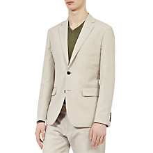 Buy Reiss Alsace Cotton Linen Suit, Stone Online at johnlewis.com