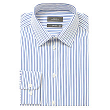Buy John Lewis Twin Stripe XL Sleeves Shirt Online at johnlewis.com
