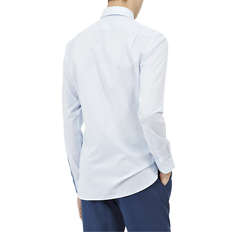 Buy Reiss Drive Small Collar Slim Fit Long Sleeve Shirt Online at johnlewis.com
