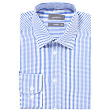 Buy John Lewis Tailored Check XL Sleeves Shirt Online at johnlewis.com
