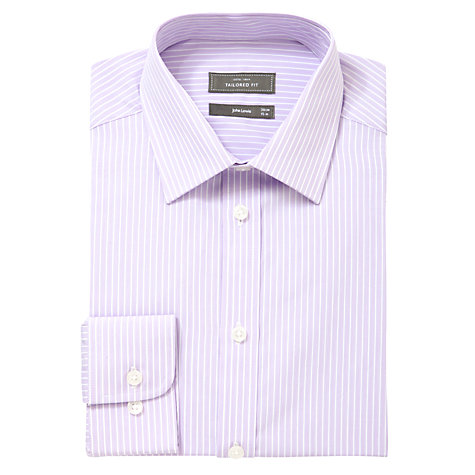 Buy John Lewis Fine Bengal Stripe Shirt Online at johnlewis.com