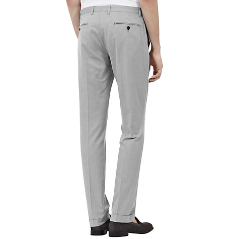 Buy Reiss Hamilton Cuff Trousers, Grey Online at johnlewis.com