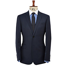 Buy Richard James Mayfair Pick and Pick Wool Suit Jacket, Navy Online at johnlewis.com