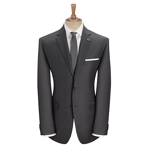 Buy Paul Costelloe Wool Mohair Tailored Suit Jacket, Dark Grey Online at johnlewis.com