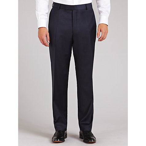 Buy Richard James Mayfair Pick and Pick Trousers, Navy Online at johnlewis.com