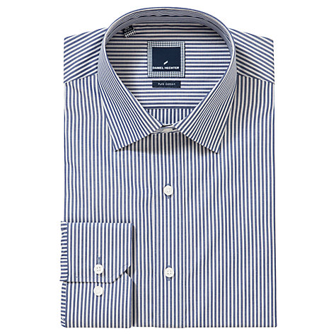 Buy Daniel Hechter Triple Stripe Long Sleeve Shirt Online at johnlewis.com