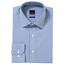 Buy Daniel Hechter Double Fine Check Long Sleeve Shirt Online at johnlewis.com