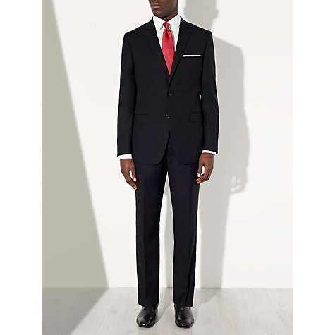 Buy John Lewis Herringbone Suit Jacket, Navy Online at johnlewis.com