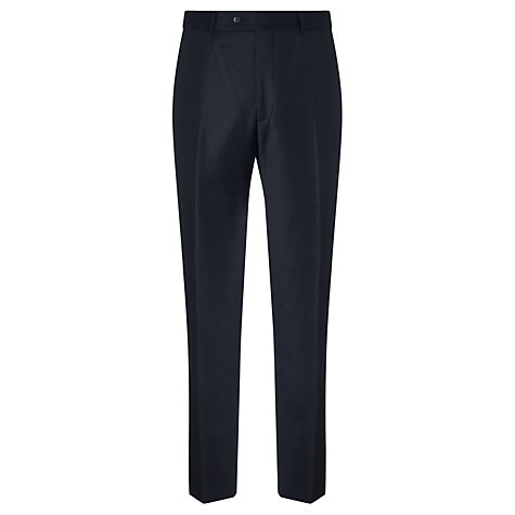 Buy Daniel Hechter Twill Stretch Travel Tailored Suit Trousers, Black Online at johnlewis.com