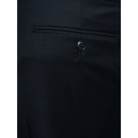 Buy Daniel Hechter Twill Stretch Travel Suit Trousers, Black Online at johnlewis.com