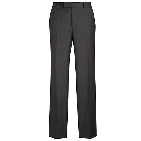 Buy Richard James Mayfair Pick and Pick Wool Suit Trousers, Charcoal Online at johnlewis.com