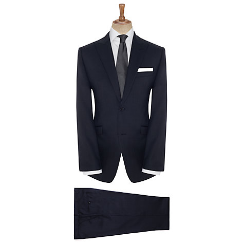 Buy John Lewis Tailored Texture Suit Jacket, Blue Online at johnlewis.com