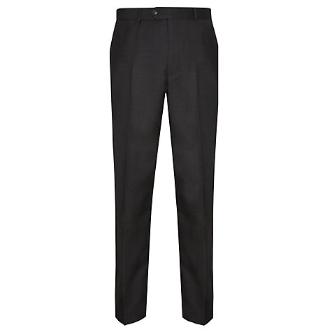 Buy Daniel Hechter Tailored Fit Suit, Charcoal Online at johnlewis.com