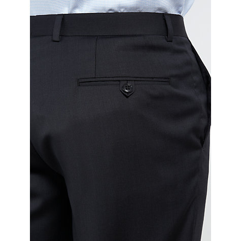 Buy John Lewis Tailored Fine Stripe Suit Trousers, Navy Online at johnlewis.com