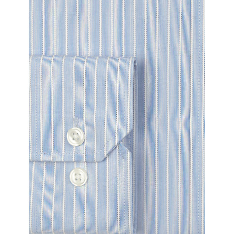 Buy John Lewis Fine Stripe XL Sleeve Shirt Online at johnlewis.com