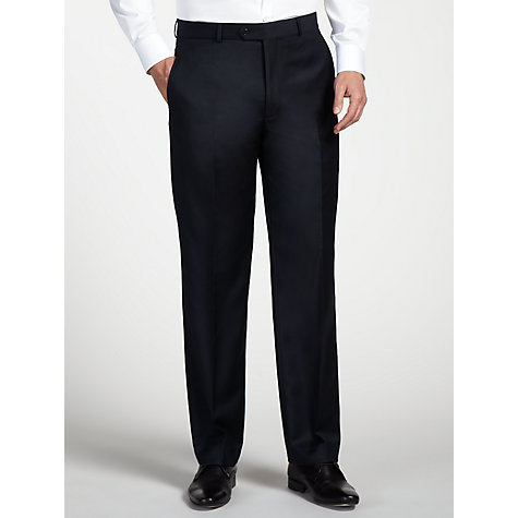 Buy Daniel Hechter Twill Stretch Travel Suit Trousers, Navy Online at johnlewis.com