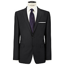 Buy John Lewis Herringbone Tailored Suit Jacket, Charcoal Online at johnlewis.com