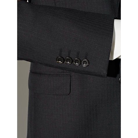 Buy John Lewis Herringbone Suit Jacket, Charcoal Online at johnlewis.com