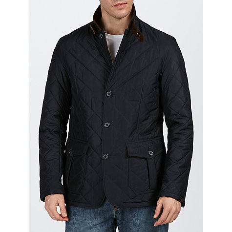 Buy Barbour Quilted Lutz Jacket Online at johnlewis.com