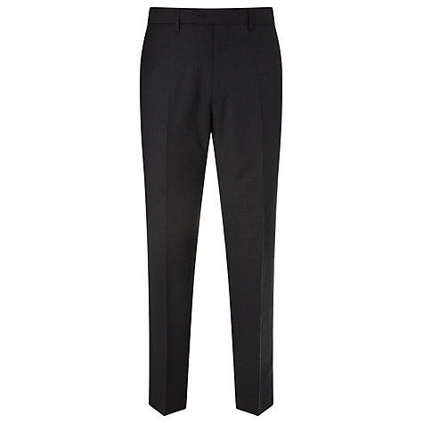 Buy John Lewis Herringbone Suit Trousers, Charcoal Online at johnlewis.com