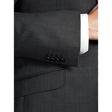 Buy Daniel Hechter Micro Birdseye Suit Jacket, Dark Grey Online at johnlewis.com