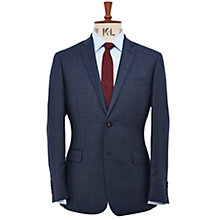 Buy Richard James Mayfair Tone Check Suit Jacket, Navy Online at johnlewis.com