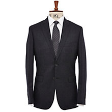 Buy Richard James Mayfair Peak Lapel Suit Jacket, Charcoal Online at johnlewis.com