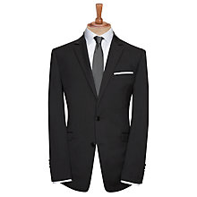 Buy John Lewis Tailored Fine Stripe Suit Jacket, Grey Online at johnlewis.com