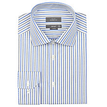 Buy John Lewis End On End Stripe XL Sleeve Shirt Online at johnlewis.com
