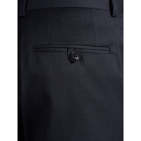 Buy John Lewis Tailored Texture Suit Trousers, Blue Online at johnlewis.com
