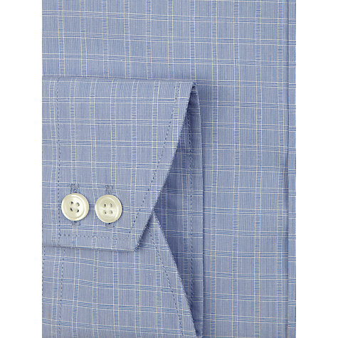 Buy John Lewis Tailored Fit Check Long Sleeve Shirt Online at johnlewis.com