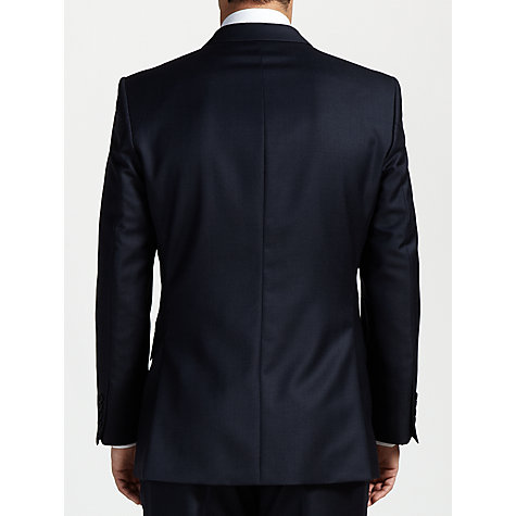 Buy John Lewis Woven in England Semi Plain Suit Jacket, Navy Online at johnlewis.com