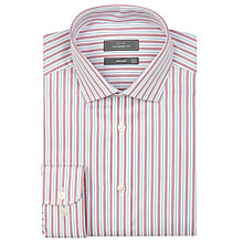 Buy John Lewis Tailored Fit Triple Stripe Long Sleeve Shirt Online at johnlewis.com