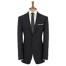 Buy John Lewis Woven in England Tailored Check Suit Jacket, Blue/Grey Online at johnlewis.com